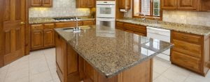 granite kitchen cabinet